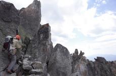 Rocher sur le fil autour du Pic Margalide