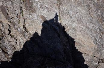 Au sommet de l'Aiguille d'Arnales