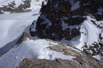Vue au dessus de la Breche Latour
