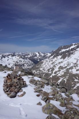 Au sommet du Cambales