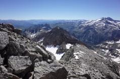 Au sommet du Maupas, le Boum au loin