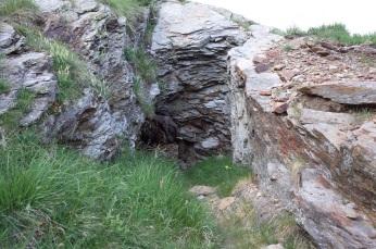 Accès à une mine