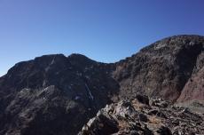 Pointe Gabarró à gauche