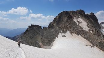 Pic de Coronas et l'Aiguille à gauche