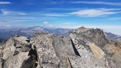 Au sommet du Pic Col de la Rimaya
